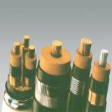 Geïsoleerd pvc van de Leider van het koper en het In de schede steken de Kabel van de Macht 3X95mm2