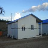 Jauge de la lumière de l'acier préfabriqué Porta des cabines de camp de travail