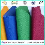 Flat PVC Coated Textile Panama Oxford Tissu 600d Tissu pour sacs de pêche