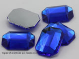 Прямоугольник восьмиугольника гладкой стороне Rhinestone акрилового пластика для украшения стола (FB-прямоугольник 30*40мм)