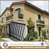 Сваренная легкая собранная загородка балкона