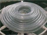 Труба пластичное Prodution стального провода PVC усиленная спиральн делая машину