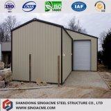 Пакгауз/мастерская нестандартной конструкции Китая Prefab Corrugated стальной/полиняно