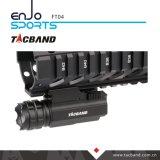 Torcia elettrica dell'arma per caccia della rivoltella/tattico compatti, CREE LED, corpo di alluminio