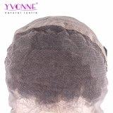 Yvonne 흑인 여성 자연적인 색깔을%s Malaysian 꼬부라진 Virgin 사람의 모발 레이스 정면 가발은 출하를 해방한다
