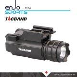 拳銃ハンチングのためのコンパクトな武器の懐中電燈または戦術的、クリー語LEDのアルミニウムボディ