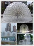 Подгонянный фонтан одуванчика фонтана нержавеющей стали конструкции