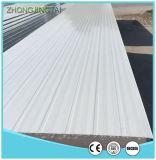 El panel de emparedado de la PU del color 50m m de la pared/del material para techos/tarjeta de acero del poliuretano del surtidor de China