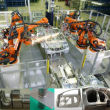 Wapen van de Robot van de Laser van de Vezel van de Machine van het Lassen van het roestvrij staal gS-Lf3da 3D Scherpe