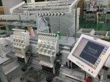 10 pulgadas de pantalla táctil de 2 cabezales bordado Precio de la máquina