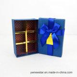 Boîte-cadeau bleue romantique de fleur de savon d'Artifiial Rose pour l'amoureux