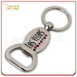 Fashion Football Shape Metal Key Holder with Bottle Opener