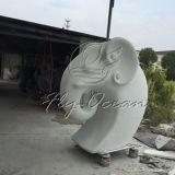 FO-Fs004 Beeldhouwwerk Van uitstekende kwaliteit van de Glasvezel van de Tuin het Decoratieve van Elephent