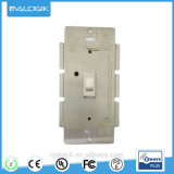 Z-Onduler l'interrupteur à bascule à la maison sec avec le régulateur d'éclairage
