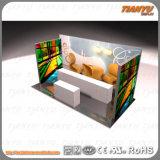 Tissu d'aluminium présentoir, châssis, boîte de lumière ou de stand