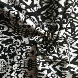 Tela negra de la impresión para la ropa de deportes (HD1401103)