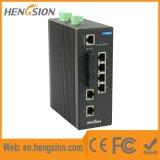 Ethernet de 1 Megabit e interruptor de red manejado industrial de la fibra