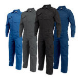 Vêtements de travail de la sécurité de la sécurité classique 100% Coton Rouge BIB Coverall