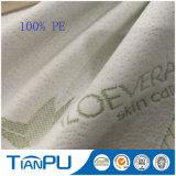 Tissu Jacquard 100% poly en tissu avec traitement Aleo Vera