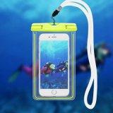 De lichtgevende Zak van de Zak van de Toebehoren van de Telefoon van de Gloed Waterdichte Onderwater Mobiele