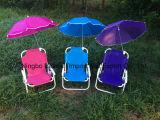 여름 죔쇠를 가진 옥외 휴가 여가 우산