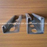 Roll formant un support de montage solaire ajustable galvanisé épais