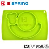 Nahrungsmittelgrad-Silikon-Schnecke-Form-Baby Placemat Baby-Führen