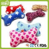Produit grinçant de mastication d'animal familier de peluche de jouets courts d'animal familier