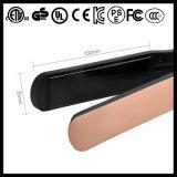 Straightener Titanium largo iónico do cabelo da placa do uso do salão de beleza (V183)