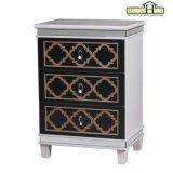 Cassa domestica del cassetto dello specchio di accento di legno solido della mobilia