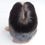 Perucas cheias do cabelo humano do laço do cabelo humano de Remy