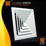 Heißer Verkaufs-Aluminiumluft-Luftauslass-Quadrat-Diffuser (Zerstäuber)