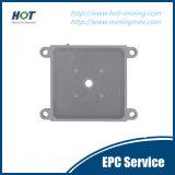 Placa de imprensa de filtro de membrana de tratamento sólido e líquido