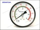 Gpg-016軸取付けられた乾燥した圧力計またはBourdon管の圧力計