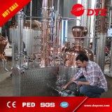 Aún de cobre 200L de alcohol de la columna de reflujo Distilllers Proveedores