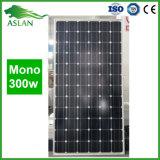 Un comitato solare monocristallino di PV di 300 watt di modulo