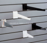 Soporte metálico Slatwall soportes estante