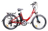 city 합금 숙녀 전동기 차량 배터리 전원을 사용하는 E 자전거 (JB-TDF02Z)