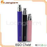 EGO-Ctwist VV EGO beaucoup de vapeur de la batterie EGO Mini cigarette électronique