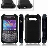 Teléfono celular Combinated Triple estuche duro caparazón cubierta para Blackberry 9790 (TX-Combo0020)