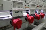 6 Kopf-Computer-Schutzkappen-Stickerei-Maschine für T-Shirt und flacher Stickerei-Fabrik-Preis in China