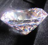 明確な円形の華麗な切口の立方ジルコニアの石