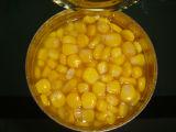 Milho doce em estanho com alta qualidade