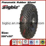 preiswerter Gummirad-Reifen der fußrollen-200X50
