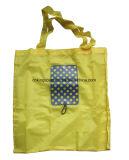 Sacs à provisions pliables en nylon de cadeau de promotion