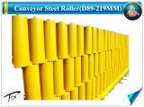 D89*250mm do rolete da Canaleta de cor amarela