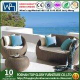 Sofá Selectional ao ar livre da mobília 4PCS do Rattan UV da resistência ajustado (TG-1238)