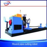 CNC van het Plasma van de Pijp van het Staal van de Vervaardiging van het metaal Scherpe Machine
