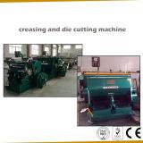 Máquina que arruga y que corta con tintas manual de alta calidad