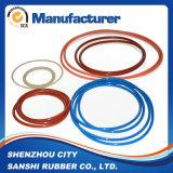O-ring van het Silicone van de Grootte van de Levering van de fabriek de Kleurrijke Aangepaste